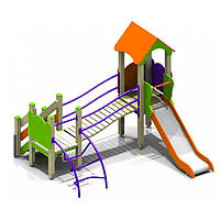 Площадка детям Иллюша-3 (в садики детям 2-6 лет)