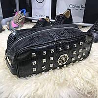 Мужская сумка Philipp Plein Grossery Black, Копия