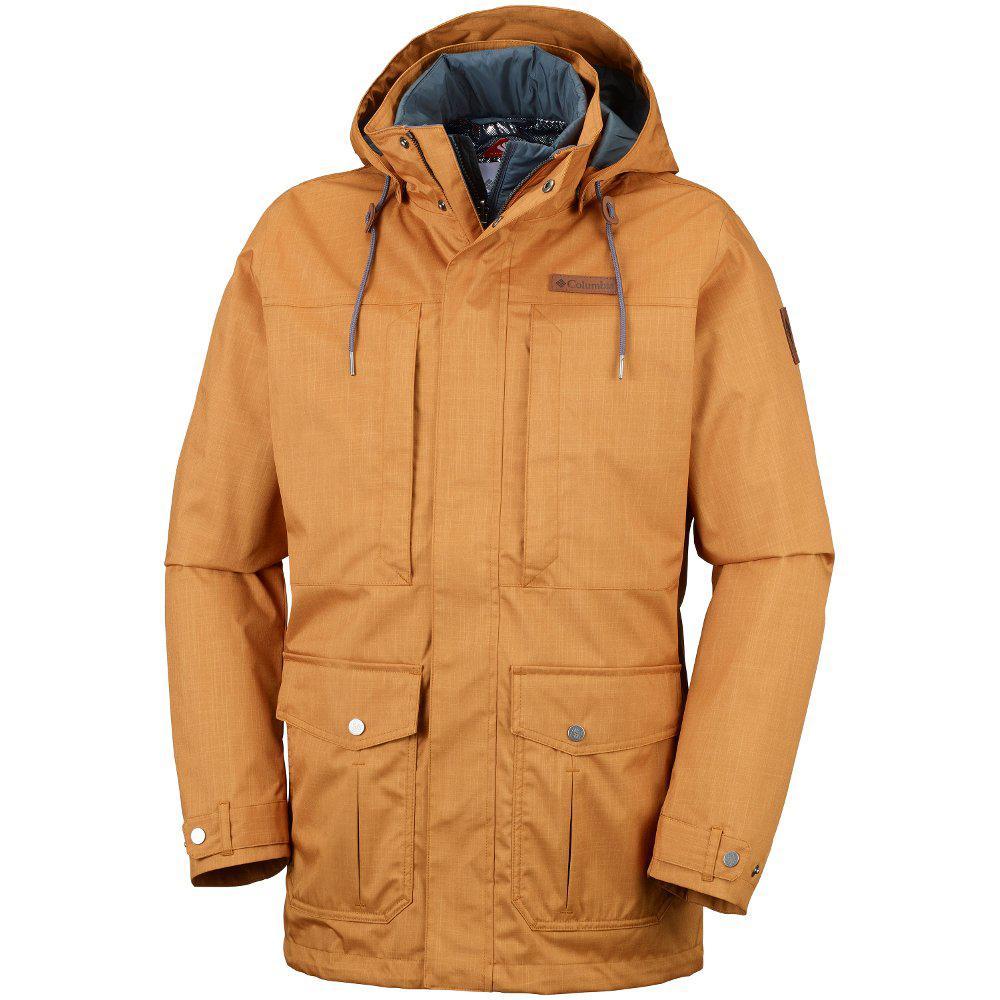 Оригинальная мужская куртка 3в1 COLUMBIA HORIZONS PINE INTERCHANGE JACKET  CANYON GOLD f6af6d3795c9a