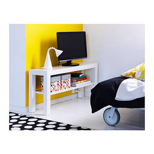 ЛАКК Тумба под ТВ, белый, 00450088, IKEA, ИКЕА, LACK, фото 2