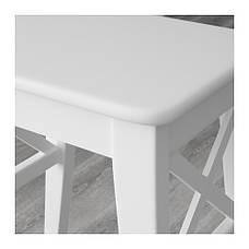 ИНГОЛЬФ Табурет, белый, 00152282, ІКЕА, ИКЕА, INGOLF, фото 2