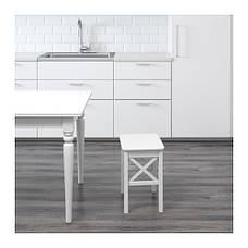 ИНГОЛЬФ Табурет, белый, 00152282, ІКЕА, ИКЕА, INGOLF, фото 3