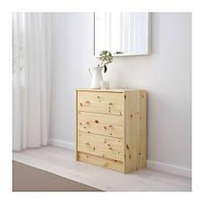 РАСТ Комод с 3 ящиками, сосна, 75305709, IKEA, ИКЕА, RAST, фото 3