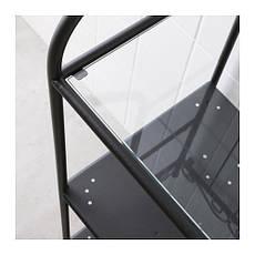 РЁНШЭР Стеллаж, черный, 90093764, IKEA, ИКЕА, RONNSKAR., фото 3