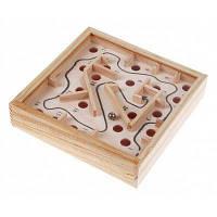 Деревянный лабиринт головоломка цвет древесины