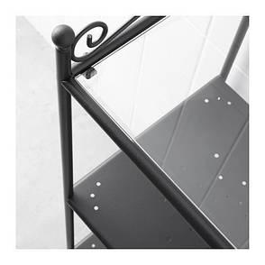 РЁНШЭР Стеллаж, черный, 10093763, IKEA, ИКЕА, RONNSKAR, фото 2