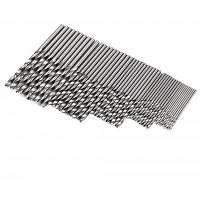 HakkaDeal 50шт высокоскоростной сталь сверло деревообрабатывающий инструмент Серебристый