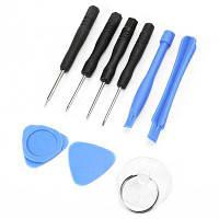 Портативные инструменты для демонтажа мобильного телефона 9шт Чёрный и синий