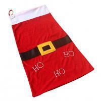 Подарочная сумка в рождественском стиле Красный