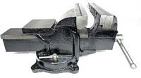 Тиски поворотные слесарные с наковальней 200 мм / 8″