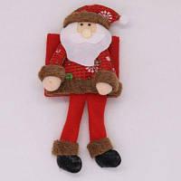 Чехол для бутылки вина рождественское украшение снеговик Дед Мороз стиль 1