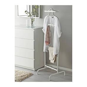 МУЛИГ Вешалка напольная, белый, 50219143, IKEA, ИКЕА, MULIG, фото 2
