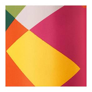 ЛИЛЬШЭР Штора для ванной, разноцветный, 60273511, IKEA, ИКЕА, LILLSKAR, фото 2