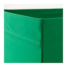 ДРЁНА Коробка, зеленый, 00323972, IKEA, ИКЕА, DRONA, фото 3