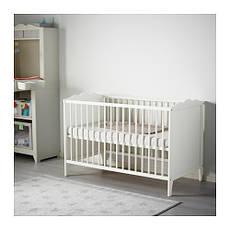 ХЕНСВИК Кроватка детская, белый, 00248529, IKEA, ИКЕА, HENSVIK, фото 2