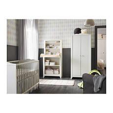 ХЕНСВИК Кроватка детская, белый, 00248529, IKEA, ИКЕА, HENSVIK, фото 3