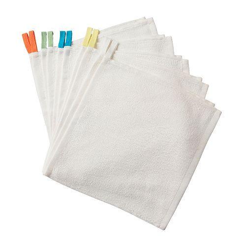 КРАМА Полотенце, белый, 40054538, IKEA, ИКЕА, KRAMA