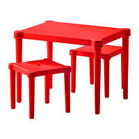 УТТЕР Детский стол и 2 стула, 50202388, IKEA, ИКЕА, UTTER