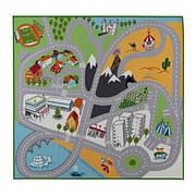 ЛЕКПЛАТС Коврик, короткий ворс, разноцветный, 20101871, ИКЕА, IKEA, LEKPLATS