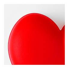 СМИЛА ЙЭРТА Бра, красный, 20199311, IKEA, ИКЕА, SMILA HJARTA, фото 3