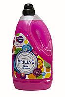 Гель для стирки BRILIAS Цветочная свежесть Двойная сила 4,2 кг