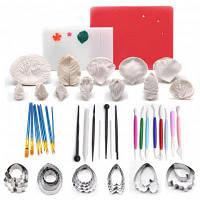 Набор инструментов для создания украшений для выпечки свадебного торта Цветной