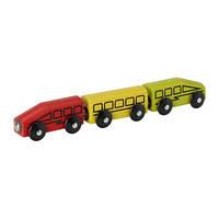 ЛИЛЛАБУ Поезд, 3 вагона, 40112897, IKEA, ИКЕА, LILLABO