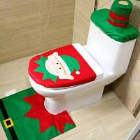 MCYH YH593 Набор для туалета рождественские украшения Зелёный