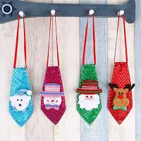 MCYH YH590 новогоднее украшение в форме галстука 4шт Цветной