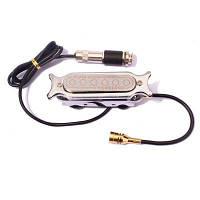 Магнитный звукосниматель для акустической гитары