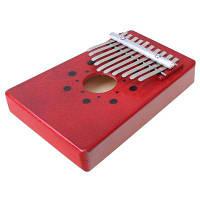 Фортепиано 10-тональное для большого пальца руки Красный