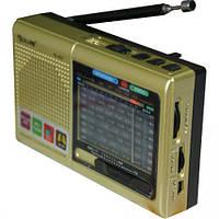 Портативная колонка радио MP3 USB Golon RX 6622 Gold, фото 1
