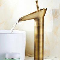 Yuda Кран в античном стиле для ванной комнаты медь 63621