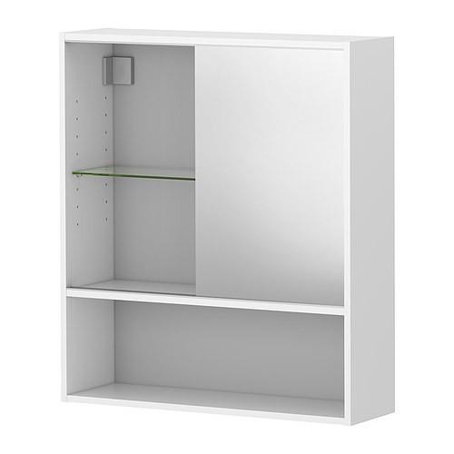 ФУЛЛЕН, Тумба с зеркалом, 10189039, ИКЕА, IKEA, FULLEN