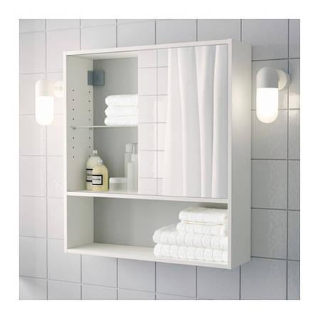 ФУЛЛЕН, Тумба с зеркалом, 10189039, ИКЕА, IKEA, FULLEN , фото 2