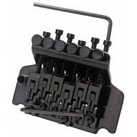 Floyd Rose Tremolo механизм натягивания струн с системой двойной блокировки для электрогитары Чёрный