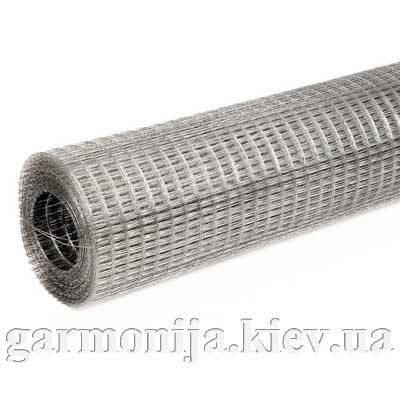 Сетка штукатурная сварная оцинкованная 0,6х25х25 мм, 1х30 м, фото 2