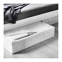 СКУББ Ящик для хранения, белый, 70290360, ИКЕА, IKEA, SKUBB