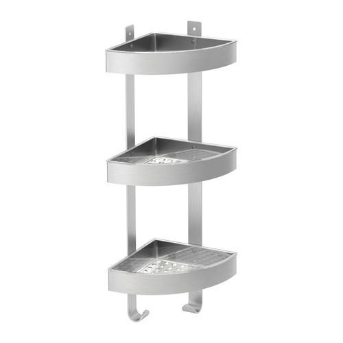 ГРУНДТАЛЬ Настенный полочный модуль, угловой, 50176916, ИКЕА, IKEA, GR