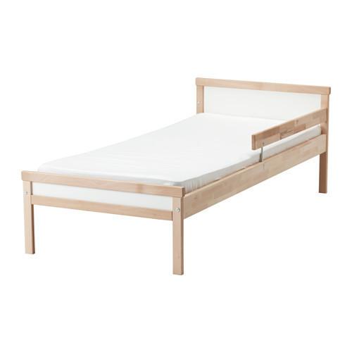 СНИГЛАР Каркас кровати с реечным дном, бук, 70x160 см, 19185433, ИКЕА, IKEA, SNIGLAR