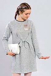 Подростковое трикотажное платье