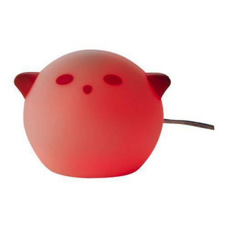 СПЁКА Светодиодный ночник, зверюшка, розовый, 90150976, ИКЕА, IKEA, SPOKA, фото 2