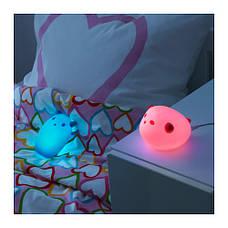 СПЁКА Светодиодный ночник, зверюшка, розовый, 90150976, ИКЕА, IKEA, SPOKA, фото 3