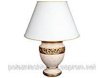 Светильник настольный с абажуром 50х72 см. из керамики ARTE FABRIS