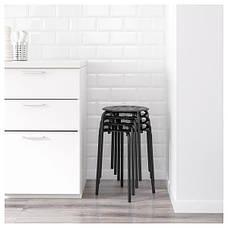 МАРИУС Табурет, черный, 10135659, ИКЕА, IKEA, MARIUS, фото 2