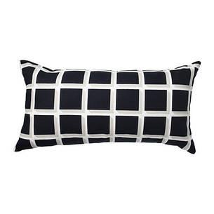 АВСИКТЛИГ Подушка, черный/белый, 30x60 см, 80345809 ИКЕА, IKEA, AVSIKTLIG  , фото 2