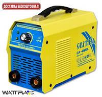 Сварочный инвертор СВИТЯЗЬ СA-265К, 220 В, сварочный ток 20-265 А, электроды 1,6-5,0 мм, в чемодане