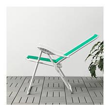ХОМЭ Кресло с регулируемой спинкой, зеленый, 40338014 ИКЕА, IKEA, HAMO  , фото 2