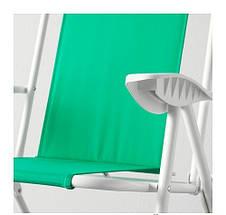 ХОМЭ Кресло с регулируемой спинкой, зеленый, 40338014 ИКЕА, IKEA, HAMO  , фото 3
