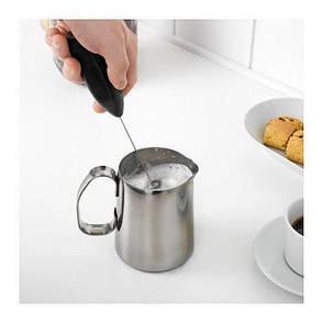 ПРОДАКТ Вспениватель молока, черный 50301166, IKEA, ИКЕА, PRODUKT, фото 2